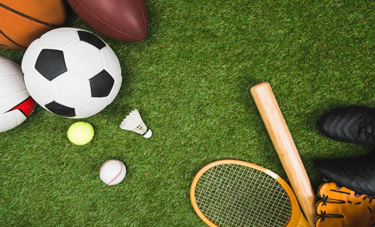 Elementos para practicar distintos deportes